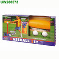 Mini Foam Tball Set for Toddler - Carry Bag Included - Best Baseball T Ball Toys for Kids Age 2 - 5 Years Old