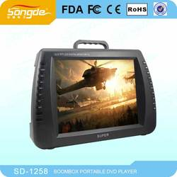 Portable High Definition Bus DVD Player With USB SD Card Funtion