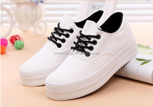 woman Canvas shoes zapatos mujer fashion casual shoes women platform canvas shoes for ladies