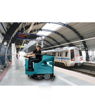 Multi-function ride on Floor Scrubber cleaning machine