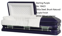 Sterling Purple Casket