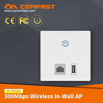 COMFAST CF-E536N Customized 300mbps Wireless In Wall AP 2.4Ghz OEM Wireless Access Point