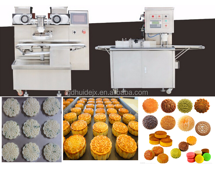 Bread factory equipment for making moon cake