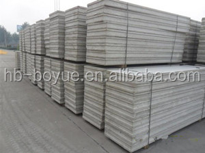 Enviromental protection construction material acoustic panels sound block panel