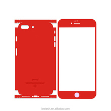 Colorful phone sticker skin ice screen protector ,mobile screen guard