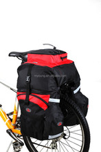 New fashionable rear bike carrier bag mountain expedition bag