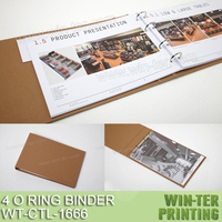 WT-CTL-1666 Professional printed ring binder