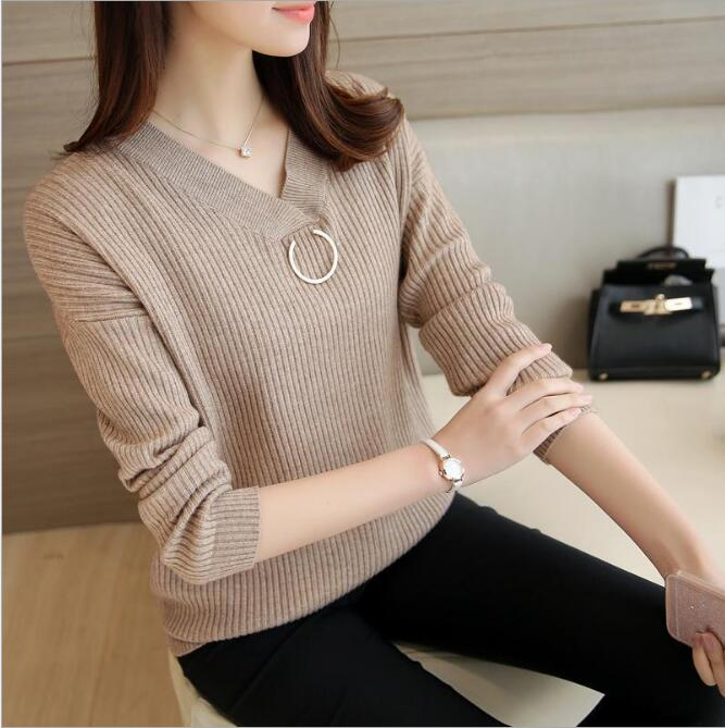 sh20077a 2017 new fashion ladies women kintting colorful sweater women sweater