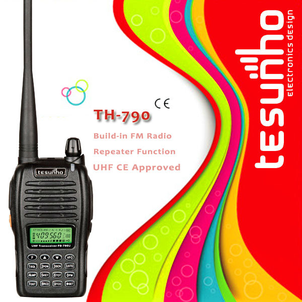 TESUNHO TH-790 CE approval wireless amateur UHF CB Portables