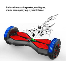 self balancing electric blutooth scooter hoverboard
