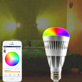 new consumer products Android IOS RGBW wireless smart led light bulb via bluetooth