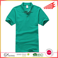 100% cotton pique short sleeves softextile mens polo shirt