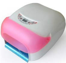 36w 2 in 1 uv lamp light&fan nail dryer w/ 4 bulbs