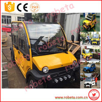 2016 New arrival electric car 4 wheel drive/dc 48v electric car motors/right hand drive electric car