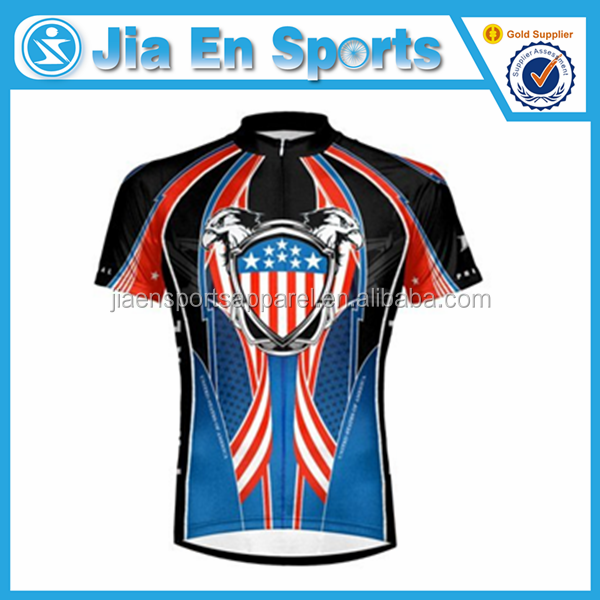 Wholesale cheap crazy custom philippine cycling jersey china made CY152