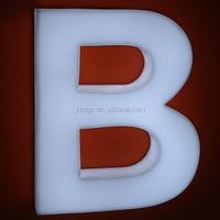 Advertising outdoor doorhead LED letter light box