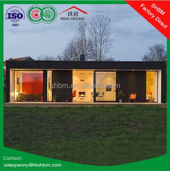 20ft 40ft premade sandwich panel light steel container house villa modern luxury prefab home modular container villa