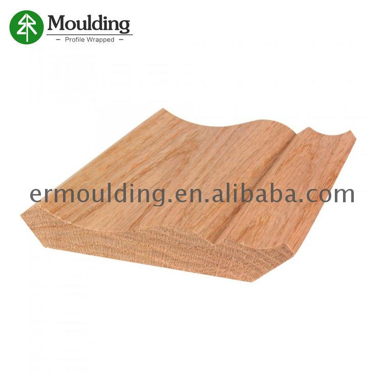 Best Price Of customized size wood carved crown molding