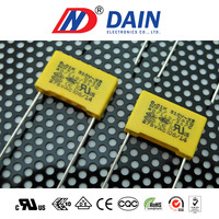 Dain electronics co.ltd. metallized polypropylene film x2 capacitor