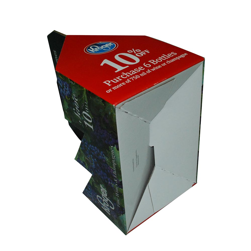 OEM size corrugated box printing free sample corrugated beer box 6 <strong>pack</strong>