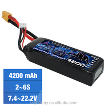 7.4v 11.1V 4.8v 18.5v 22.2v 4200mah 2s 3S 4s 5s 6s1P 65C rate Lipo battery for RC multicopter RC helicopter drone