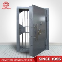 High Quality Metal Bank Security Door
