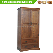 Beautiful Antique Armoire Oak Assemble Portable Bed Room Wardrobe
