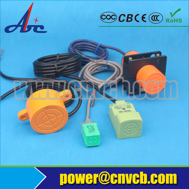 PXS19 LJ20A3-5 M20 screen shield AC or DC NO/NC/NONC 5mm detection distance proximity switch factory