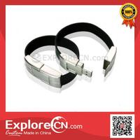 Elegant supporter silicone USB bracelet
