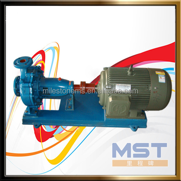 Axial intake centrifugal electric water pumps