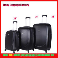 Dongguan Factory Hot Sale Hard Shell ABS Trolley Luggage