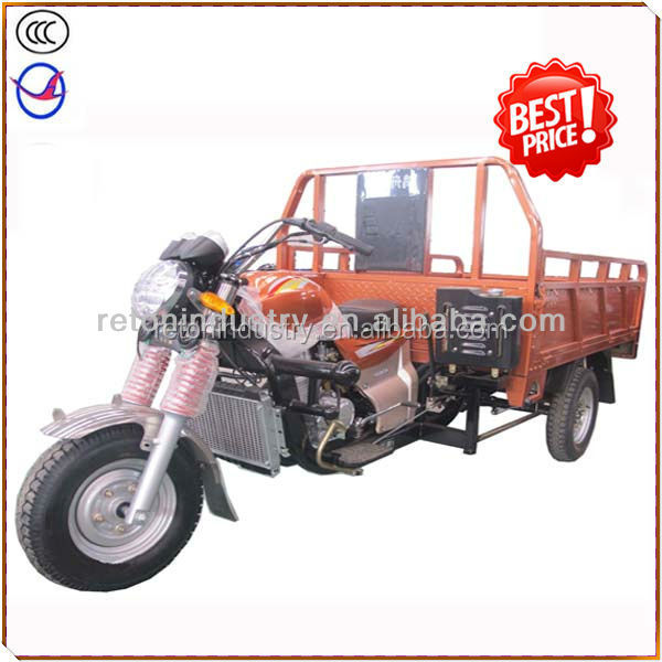 Hot sale motorcycle cargo tricycle , gasoline tricycle HZ150ZH-B8