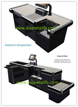 New promotion supermarket store cash counter with High Quality