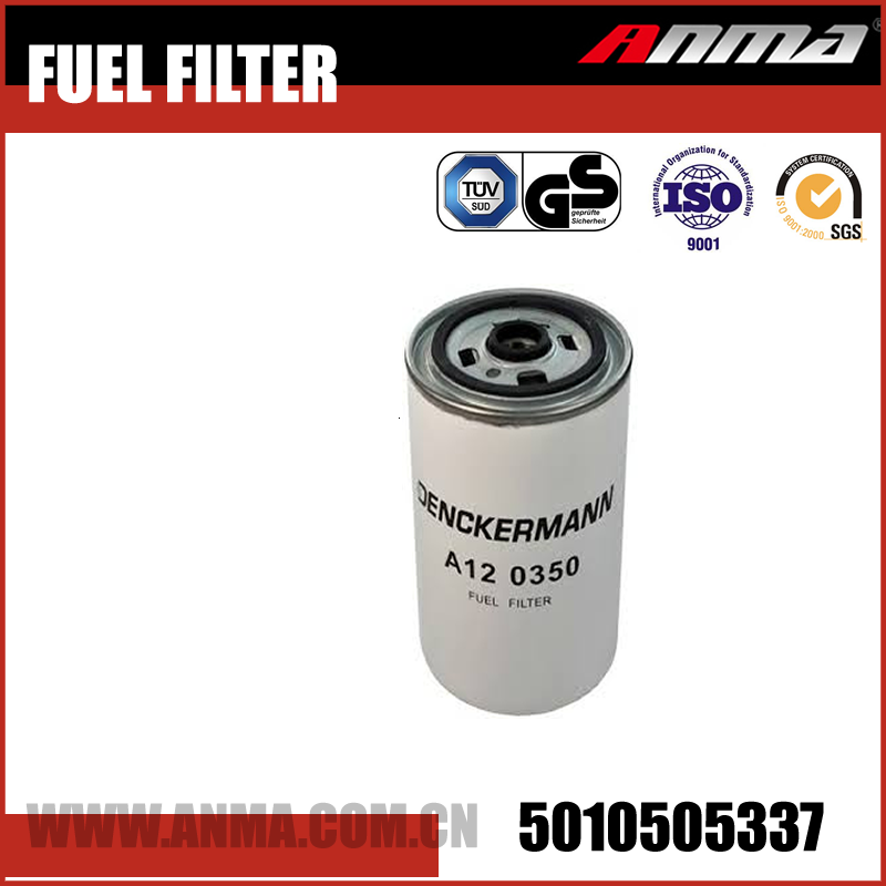 High Efficiency Fuel Filter 5010505337 For RENAULT