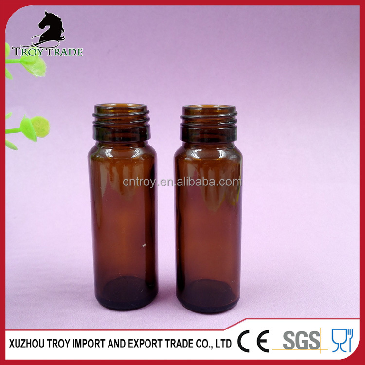 30ml Brown Oral Liquid Glass Bottle with Screw Top