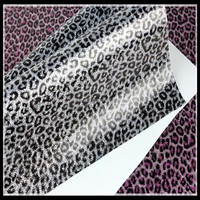 BY5087 Glitter Vinyl With Leopard