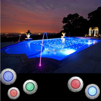 36W Waterproof High Power Multi Color RGB DMX IP68 LED Underwater Swimming Pool Light