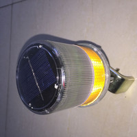Solar led flashing mini solar powered led light