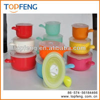 Disposable Plastic PP Microwave Food Container Casserole