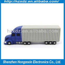 truck Usb Flash Drives/Container Car 1GB usb flash stick 100% real capacity