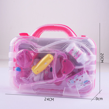 Favorite pink lovely girls doctor pretend play set medical toy