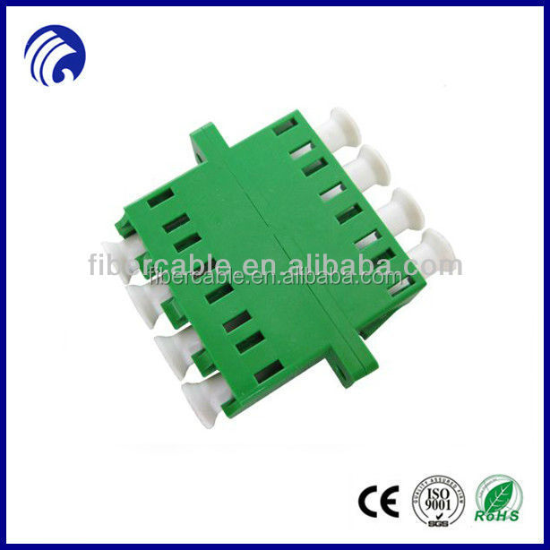 Supply quad Fiber Optic Adapter 4 ports Duplex LC optic adaptors in LC-APC/UPC/PC type