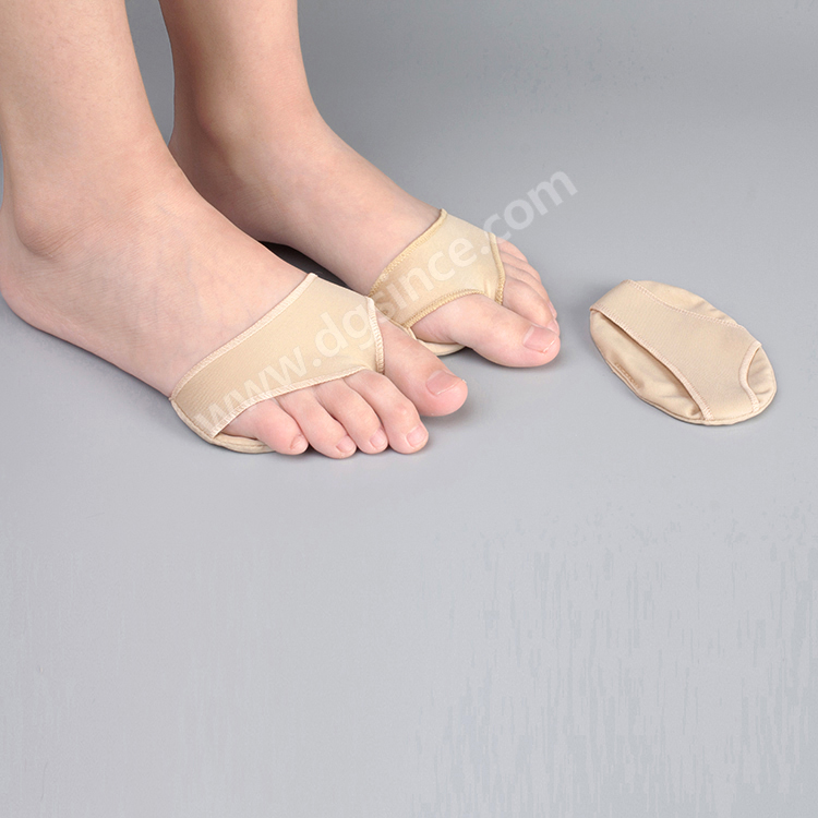 Pain relief medical foot products fabric anti <strong>friction</strong> metatarsal pad