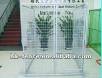 Hot dip gl zinc welded wire dog kennels to sale