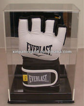Acrylic Glove Display Case New Deluxe Single UFC / MMA Fight Glove Display Case with Mirror