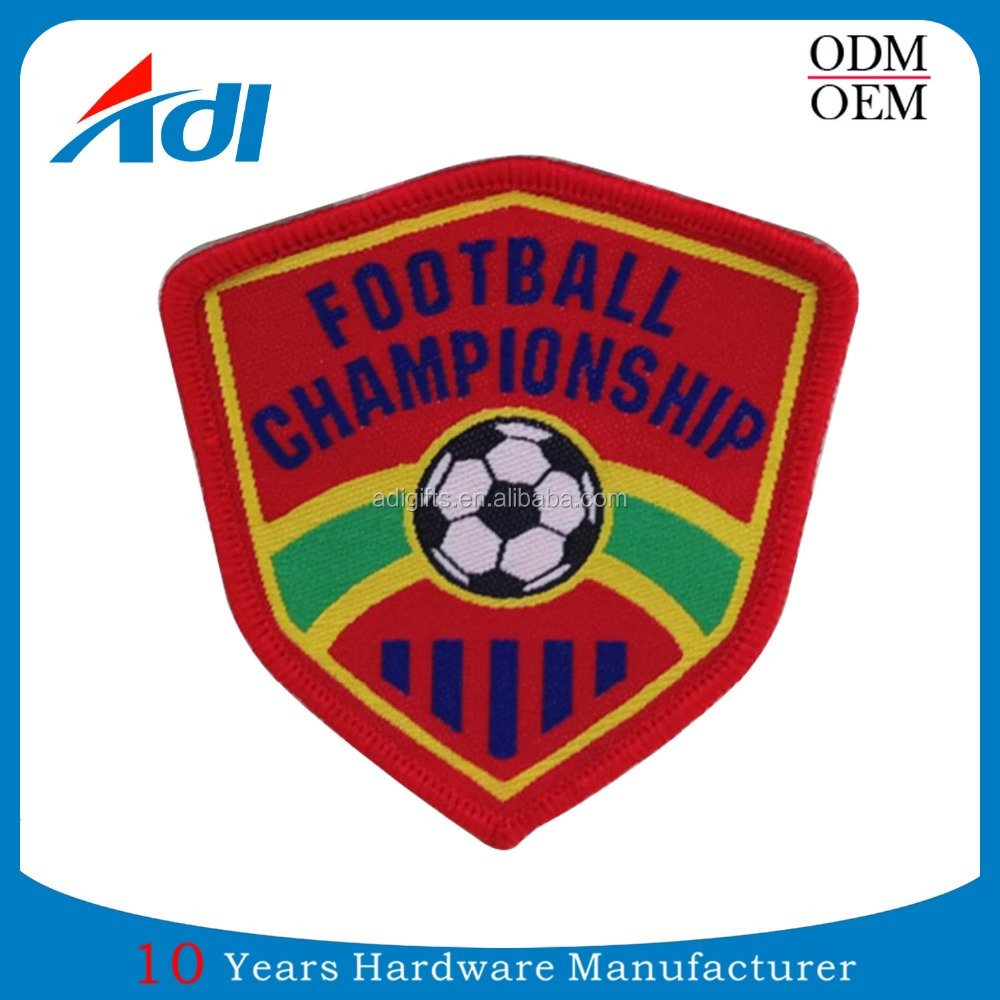 Custom your logo embroidery handmade sports championship patches