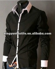 T/C 65/35 tailored slim fit trendy man shirt
