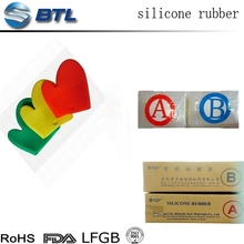 Fast cure silicone rubber compound for moulding
