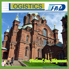 Shipping forwarder china consolidated sea shipping and logistics service from China to HAMINA