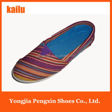 latest flat shoes for women 2015 designs cheap women color print canvas flats shoes ladies cool flats shoes